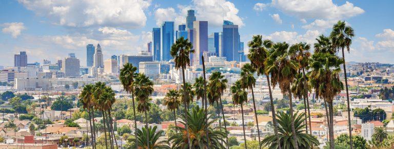 City of Los Angeles skyline